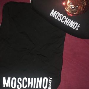 Authentic Moschino Baby Bag w/ Changing Mat